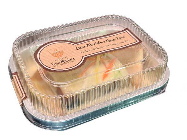 Pastel-de-Verduritas-con-Salsa-de-Queso