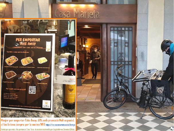 Take Away Delivery Girona Comida para Llevar